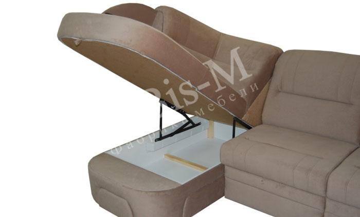 Лаура (длинный бок) - мебельная фабрика Бис-М. Фото №4. | Диваны для нирваны