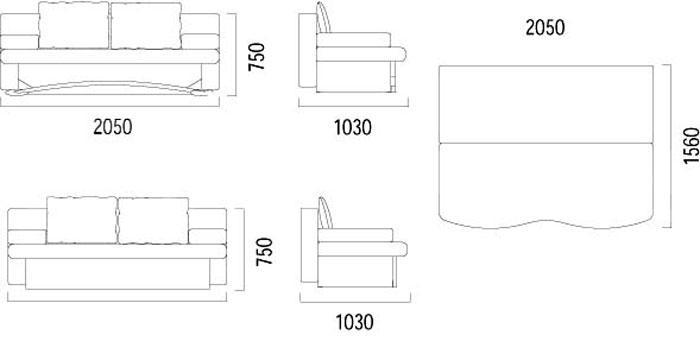 Шпех М с декоративной дугой - мебельная фабрика Фабрика Ливс. Фото №1. | Диваны для нирваны