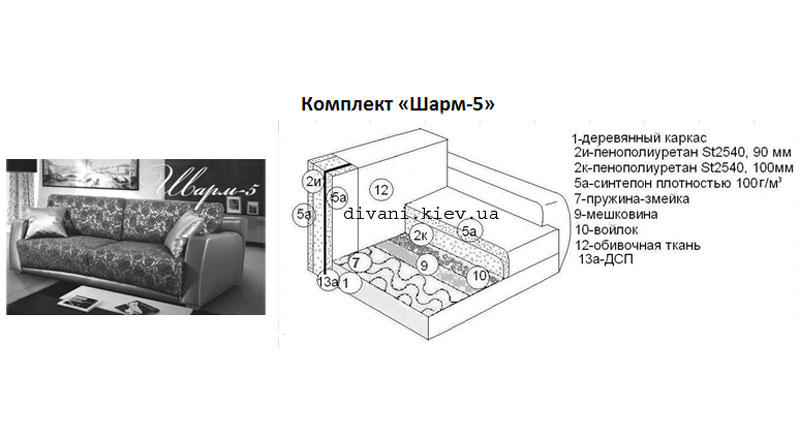 Шарм-5 - мебельная фабрика Фабрика Ливс. Фото №1. | Диваны для нирваны